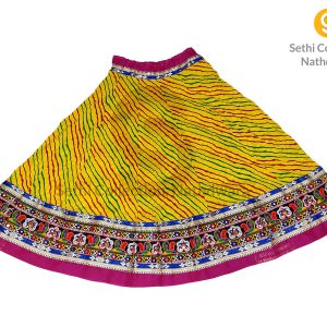 Nimbu-Yellow-Leheriya-lehenga-sethi-collection