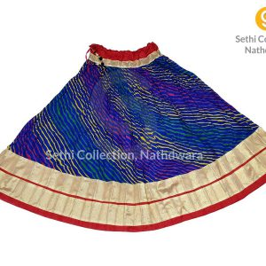 Royal-blue-Leheriya-zari-border-lehenga-sethi-collection