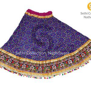 Royal-blue-flower-bandhej-lehenga-sethi-collection