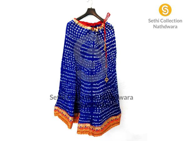 mor-border-lehenga-bandhej-Royal-blue-color-lehenga-sethi-collection