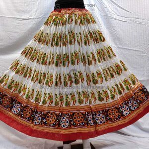 Dandiya-print-White-lehenga-sethi-collection