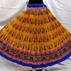 Dandiya-print-yellow-lehenga-sethi-collection