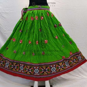 Parrot-green-embroidery-work-lehenga-sethi-collection